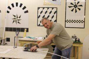 Tiling trainer
